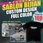 Sablon Kaos Satuan Full Color di Pacitan